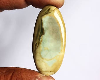 7.8 Gram Natural Imperial Jasper Cabochon For Making Pendant Jewelry, Loose Gemstone, Oval Shape, HandCut Designer Stone, Calibrated AG-4422