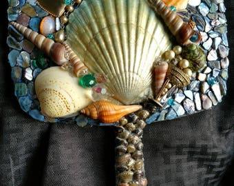 Beautiful Mermaid Inspired Hand Mirror