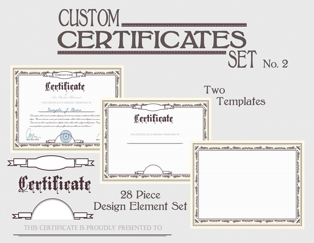 Certificate template set diy award certification diploma document certificate template set diy award certification diploma document clipart images download printable graphic design clip art kit no 2 yelopaper Choice Image