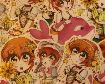 Love Live Rin stickers