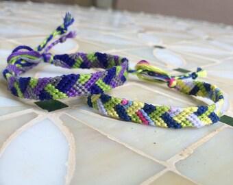 Offset Chevron Friendship Bracelets