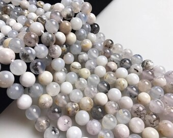 Natural Multi Chalcedony Gemstone Smooth Round Loose Beads Size 6mm/ 8mm/10mm 15.5 Inches Per Strand. R-S-AGA-0034