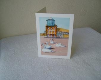 Littlehampton Look & Sea, Blank Greeting Card