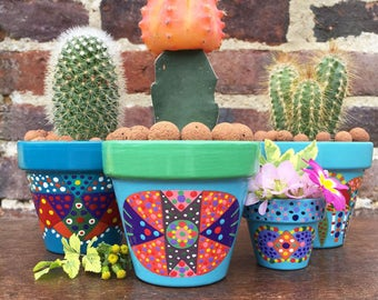 Small flower pot / small planter for cactus / Succulents