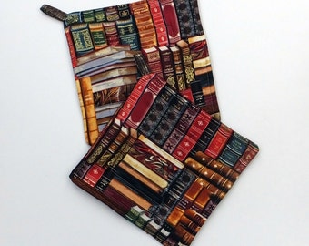 Book Pot Holder Set of 2