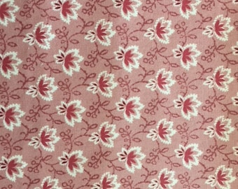 Reproduction Fabric Heirloom Pink Fabric Traditions