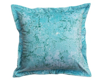Abstract Blue Cushion