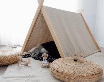 Play tent - natural