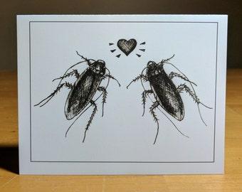 Roach Love Card