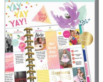 The Happy Planner Memory Keeping Value Pack Stickers - Big Floral Memories
