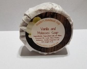 Vanilla and Molasses Soap