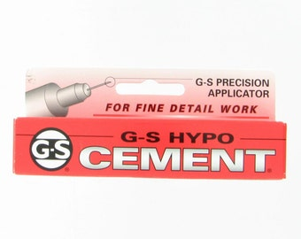 Hypo-Tube Cement Watch & Jewelry Glue for Rhinestone Repair and Replacement