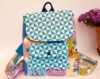 kleiner Kinderrucksack für Kita Kindergartentasche Katzen Geschenk