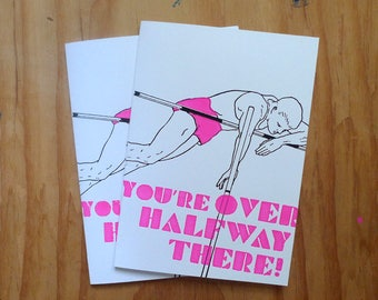 You're Over Halfway There!