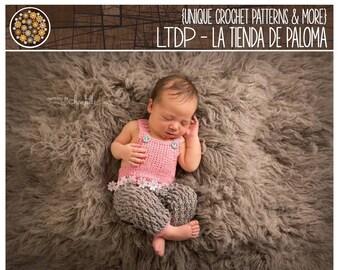 INSTANT DOWNLOAD - Crochet Pattern for Jamie Overalls