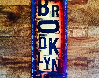 Brooklyn (Vertical Sign)