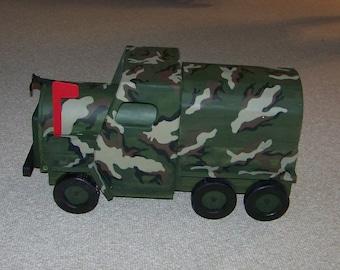 Army Truck Mailbox