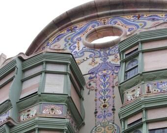 Barcelona, Wall Art, architecture art, Fine Art Photography, Modernisme, Giclée print, Art Nouveau