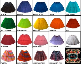 ADULT TUTU . Girls to Adult Plus Size Tutu . Adult Tutu . Ballet Tutu . Running Skirt . Long Length up to 16in by The Tutu Factory USA ™