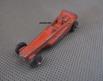 Tootsie vintage Dragster , number 2 , Diecast toy car , Die cast toy , Tootsietoys , Vintage toy cars , Toy cars