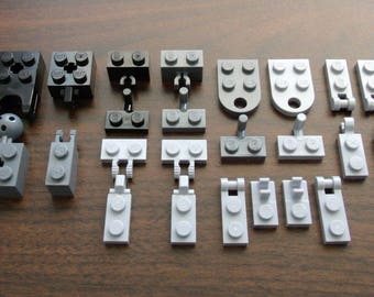 NEW LEGO Hinge Parts Lot: 24 Specialty Pieces