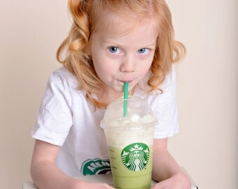 Coffee headband- Coffee bow - Coffee headband - Toddler Coffee clip - Baby Coffee bow - Baby shower gift- New baby gift - Coffee lovers