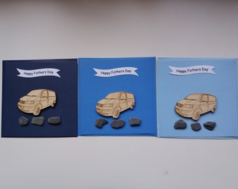 T5 Panel Van  - Handmade Father's Day Card (1 Card)