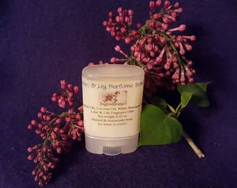 Lilac & Lily Perfume Solid