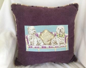 Dog pillow terrier