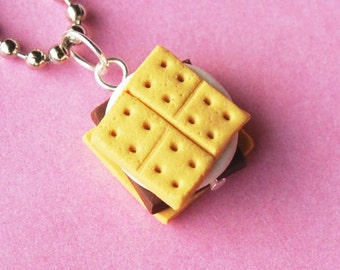 Handmade Smore Necklace  (D1H1)