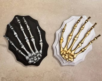 Skeleton Hand Jewelry Holder, Jewelry Organizer, Jewelry Holder Wall, Skeleton Hand, Key Holder, Day of the Dead, Gothic Accessories