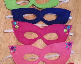 Mask, Felt Mask, Dress Up, Dress Up for Girls, Pretend Play