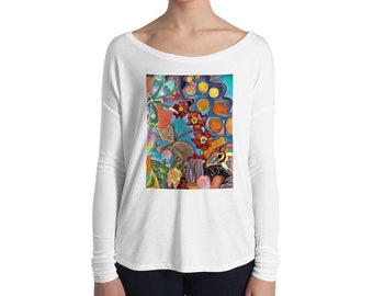 Dragonfly Dream Ladies' Long Sleeve Tee