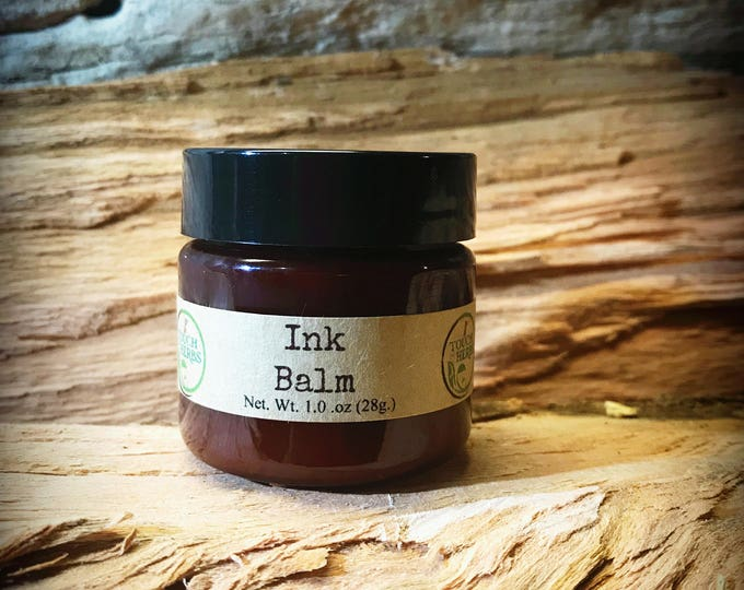 Ink Balm - Tattoo Salve - Natural Healing Balm for Tattos