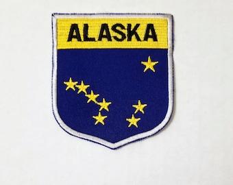 Alaska - Vintage Patch for Jackets, Backpacks, Jeans/Clothing, Costumes, Crafts