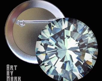 MEGA Diamond  1.25 inch - Pinback Button