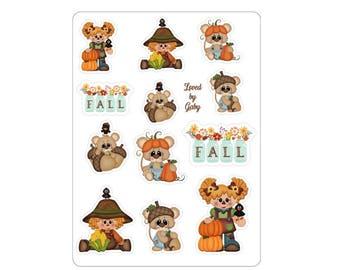 "LovedbyGaby stickers ""Pumpkin fall"""