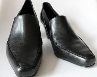 Vintage Women's Dress Shoes, Vintage Dress Shoes, Vintage Franco Sarto. Women's Dress Shoes, Women's Shoes, Black Dress Shoes, Black Shoes