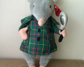 "Sugar Loaf Inspector Mouse, vintage 1995, new  13"" tall"