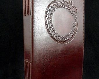 Personalized Leather Journal, Custom Leather Journal, Book of Shadows