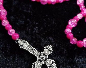 Barbie Girl Inverted Rosary