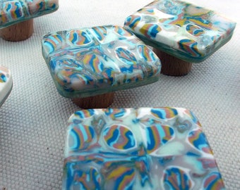 Buttons original furniture, blue, green, lime, taupe and white