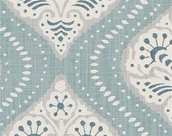 Designer Pillow Cover - Dwell Studio Ogee Aquatint