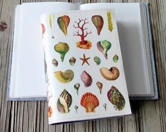 Jahrgang Muscheln Journal, Tagebuch-Notizbuch-Planer, Muschel Strand Dankbarkeit Zeitschrift - Geschenk für unter 30
