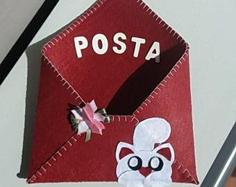 Felt Mail Holder
