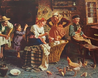 "GH817H ""The Peasants Treasure"" by E. Zampighi"