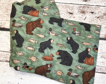 Whimsical Bear microwave hot / cold pack
