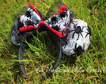 Ghosts & Bats - Handmade Ears - Walt Disney World - Disneyland