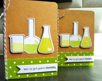 Geeky Valentine Card, I Love You Card, Happy Anniversary Card, Chemistry Card, Anniversary Gift for Men, Card for Boyfriend