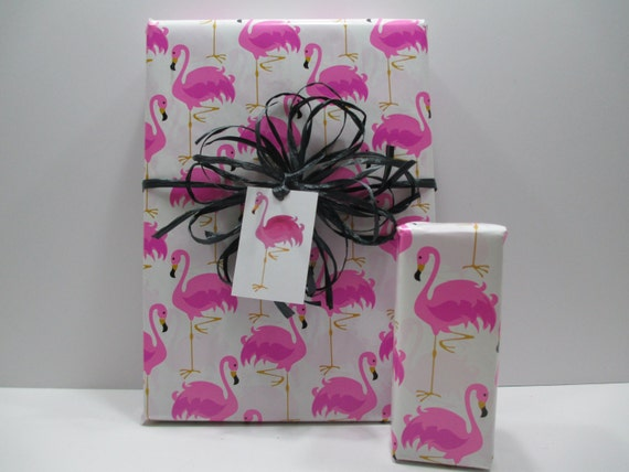 Pink Flamingo Gift Wrap, Pink Flamingo Wrapping Paper, Table Runner, 10  Feet Long X 24 Inches Wide   LAST ROLL From ThePackageHouse On Etsy Studio